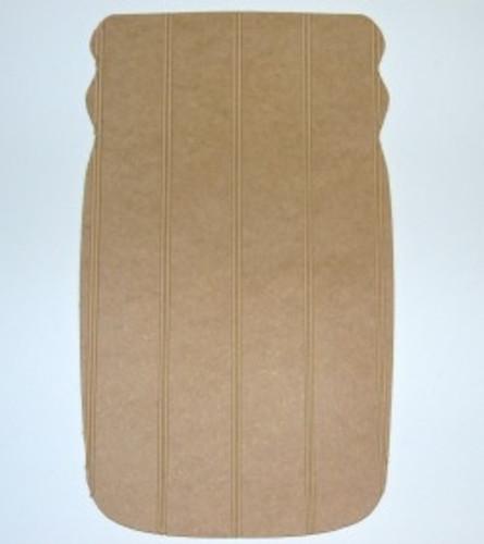 Wooden Mason Jar Cutout Beadboard Shape Paintable MDF DIY Craft