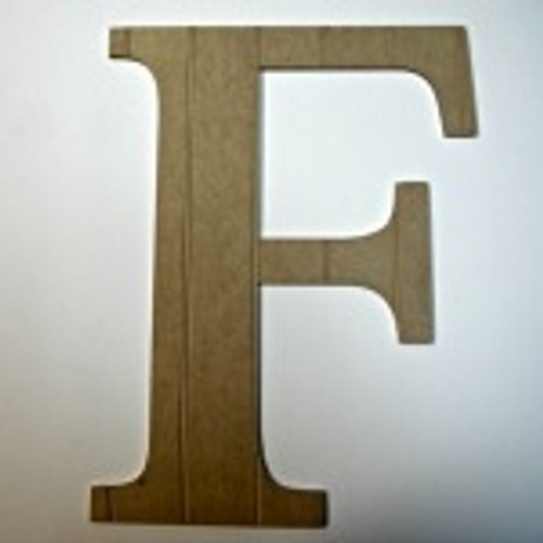 Individual letters for walls (F) looks great with our dinosaur cut out shapes.