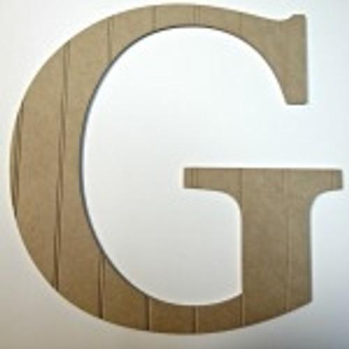 Wooden letters kids room (G)