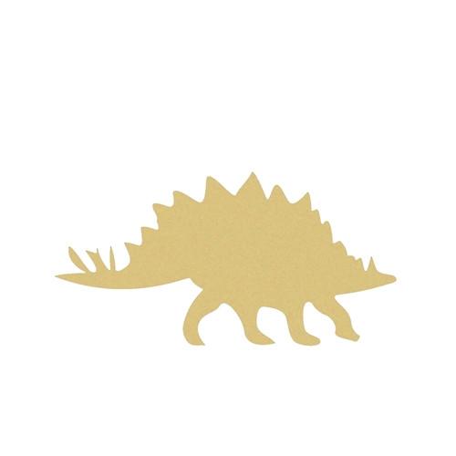 Dinosaur Stegasarus(1) Unfinished Cutout, Wooden Shape, Paintable MDF