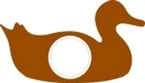 Duck Frame Letter Insert Wooden Monogram Unfinished DIY Craft