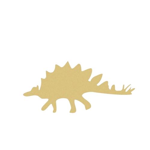 Dinosaur Stegasarus(2) Unfinished Cutout, Wooden, Paintable Wooden