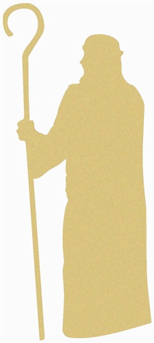 Noah Unfinished Cutout, Wooden Shape, Paintable Wooden MDF