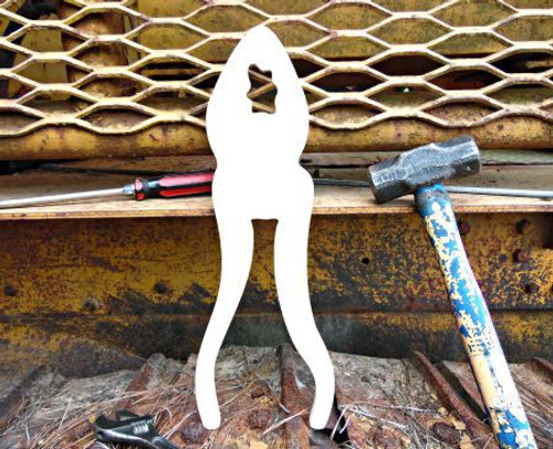 Pliers Unfinished Cutout, Wooden Shape, MDF DIY Craft