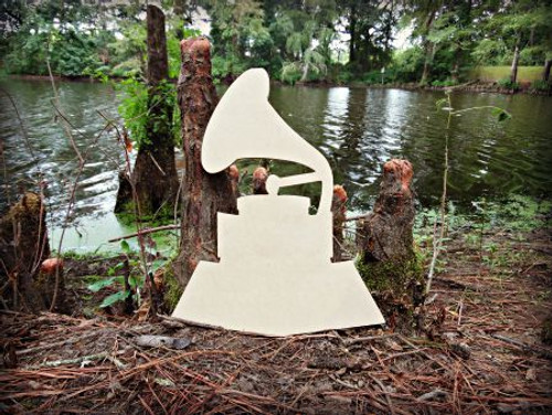Grammy Unfinished Cutout, Wooden Shape, Paintable Wooden MDF