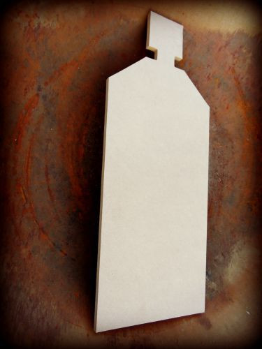 Shampoo Bottle Unfinished Cutout, Wooden Shape, Paintable Wooden MDF