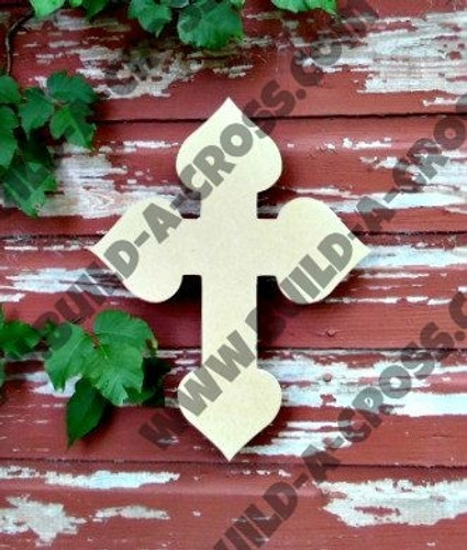 UNFINISHED WOODEN CROSS PAINTABLE WALL HANGING STACKABLE CROSS (38)
