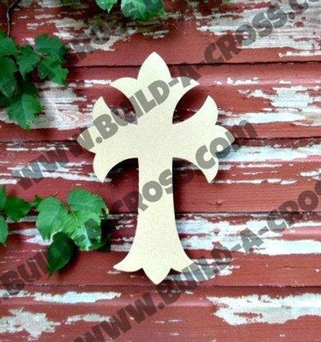 Unfinished Wooden Cross Paintable Wall Hanging Stackable Cross 34