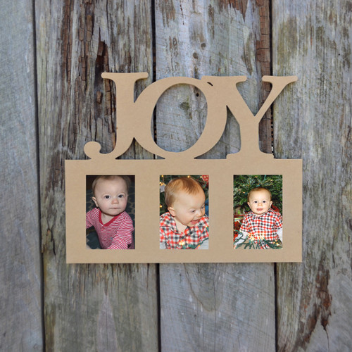 Unfinished Picture Frames Paintable Cutout Shape Joy