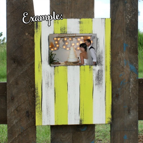 Unfinished Rectangle Picture Frame, Wooden Paintable,  Wood Art