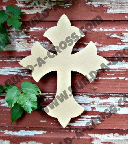 Unfinished Wooden Cross Paintable Wall Hanging Stackable Cross 33