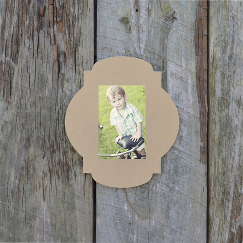 Unfinished Whimsical Picture Frame Wooden Paintable Wood Art James