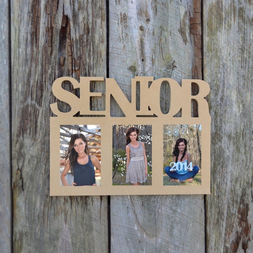 Senior Photo Picture Frame Unfinished, DIY