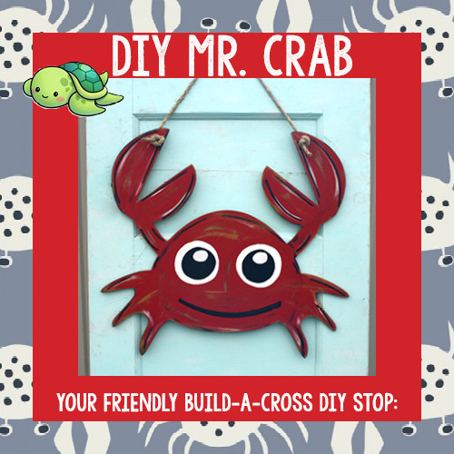 Mr. Crab Cutout Blog