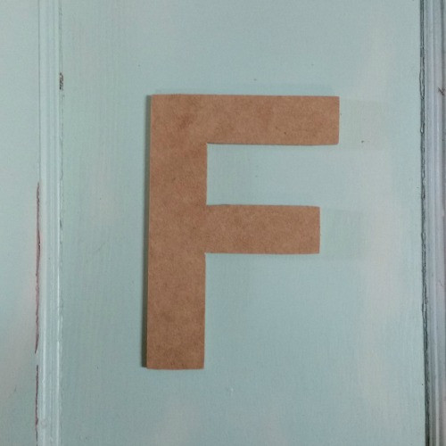 Letters made of wood are great custom letters for walls.