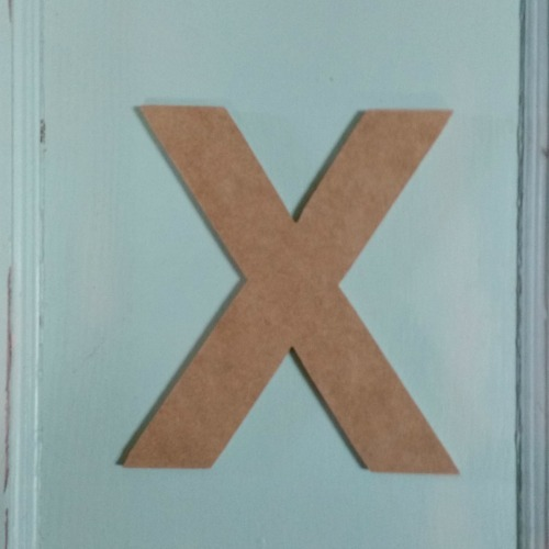 Where to buy big wooden letters? Build-A-Cross