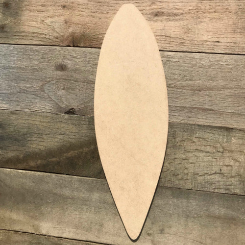 Kayak Boat Wood Sport Shape Paintable Wooden craft Unfinished  Cutout