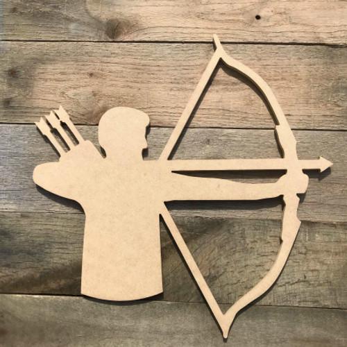 Archery Shooting Arrow Unfinished Wooden Sport Shape Wood