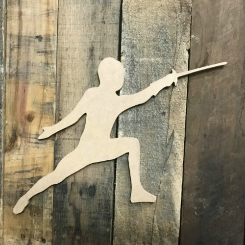 Fencing Unpainted Unfinished Sport Craft Wooden