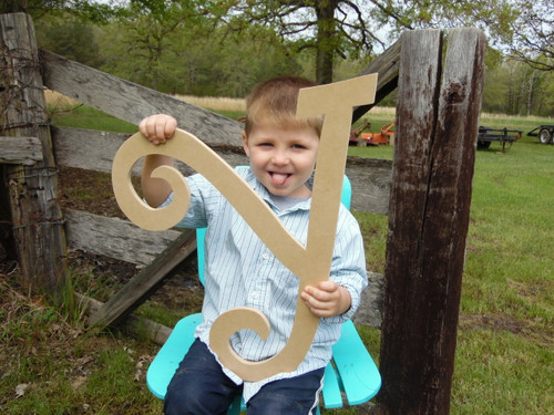 Cut Out Wood Letters Wooden Words and letters (Y) Curlz Wooden Craft