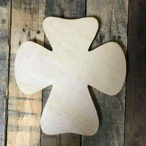 Wooden Wall Cross, Unfinished Wood Cross Craft, DIY Pine (22)