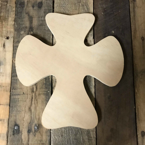 Wooden Wall Cross, Unfinished Wood Cross Craft, DIY Pine (23)