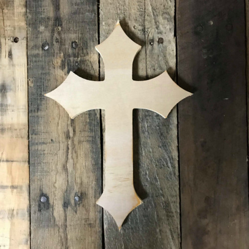 Wall Hanging, Wood Cross, DIY, Wooden Wall Craft Pine (40)