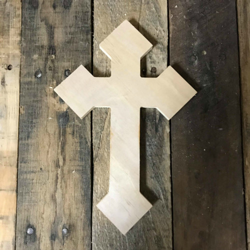Wall Hanging, Wood Cross, DIY, Wooden Wall Craft Pine (41)