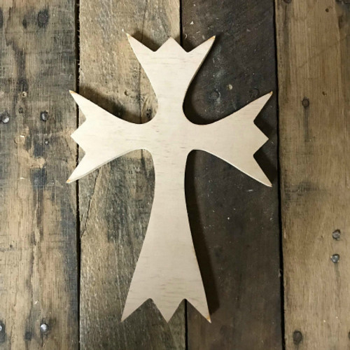 Wood Cross, Unpainted Wooden Wall Craft, VBS Pine (50)