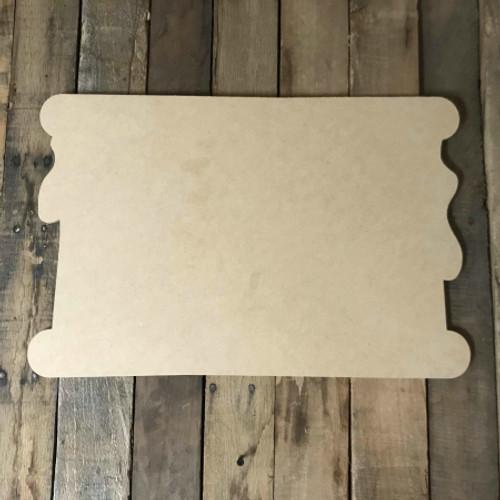 Smore, Craft Unfinished Wood Shape, Wood Cutout