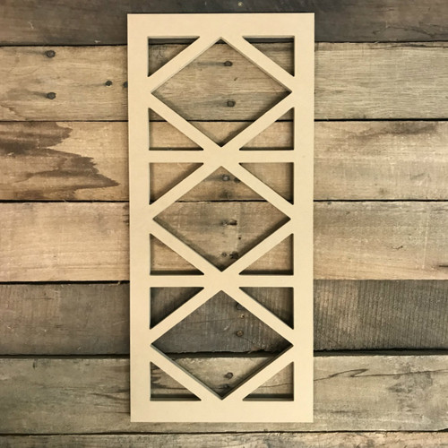 New Cathedral Arch Window Decor,  Wooden Cutout Craft