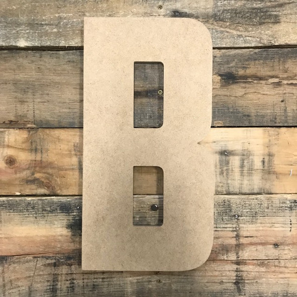 Large Wooden Letters, American Captain, Unfinished MDF, Paint-able DIY