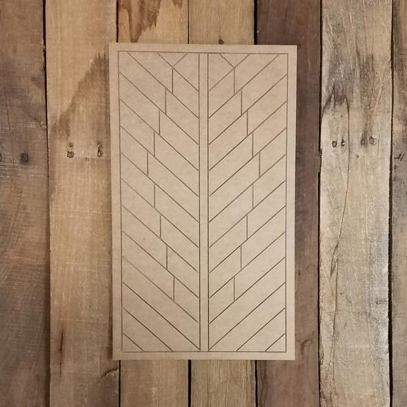 Feather Geometric Art Pattern, Boho Style Unfinished Shape, Boho Style Paint By Line