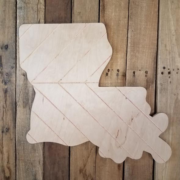 Louisiana Bohemian Pattern Pine State, Unfinished Paint by Line