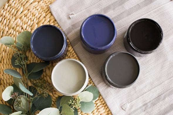 Black Sands Silk Paint, Dixie Belle