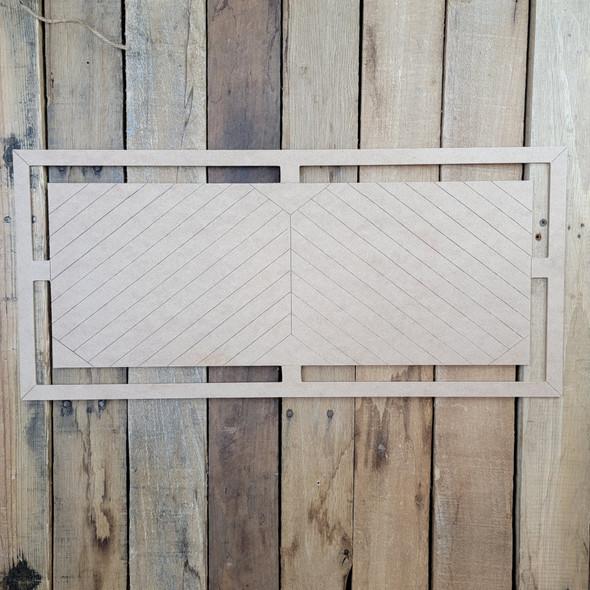 Geometric Wall Art Décor Cutout, Wooden Craft Shape