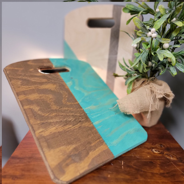 Decorative Home Décor Bread Board, Unfinished Wood Shape