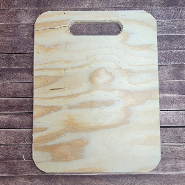 Rectangle Charcuterie Bread Board Pine, Unfinished Wood Craft Shape