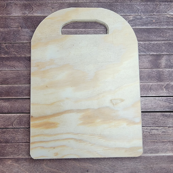 Charcuterie cheese Board Pine, Unfinished Wood Craft Shape