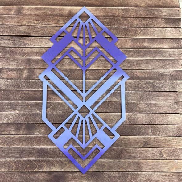 Intricate Home Décor Diamond Theme , Unfinished Wood Cutout