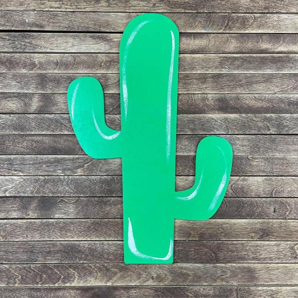 Desert Cactus, Wooden Craft Shape, Paintable MDF Craft