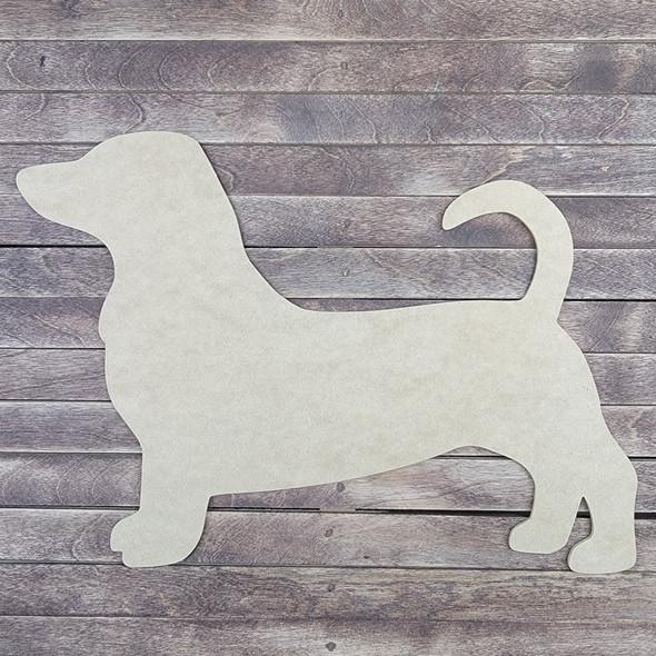 Beagle Dog Design , Wooden Craft Shape, Paintable MDF Craft