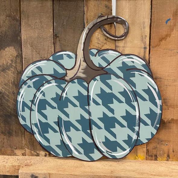 Jarrahdale Pumpkin Shape, Paint by Line, Wood Craft Cutout