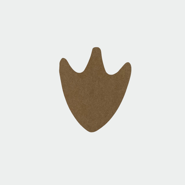Duck foot,  Unfinished Wood Cutout