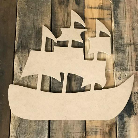 Pirate Ship Craft Shape