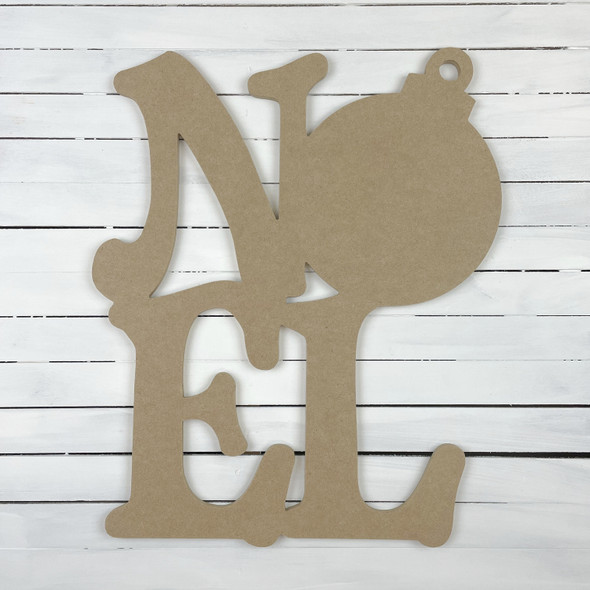 Noel With Ornament Sign