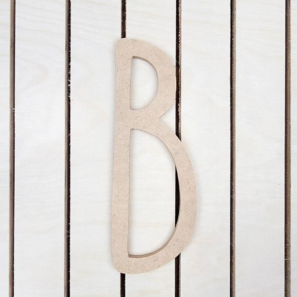 Wooden Letters, Alphabet Letters, Skinny Lemon Font Craft