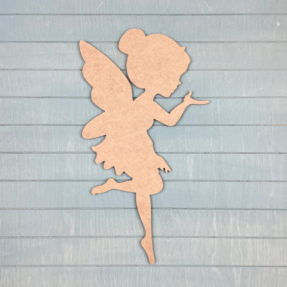 Tinker Fairy Paint by Line, Unfinished MDF Craft Shape