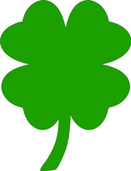 4 Leaf Clover Unfinished Cutout