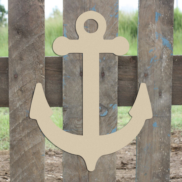Anchor Unfinished Cutout Paintable Wooden MDF